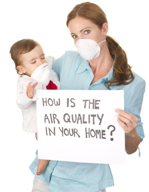 check air quality at home